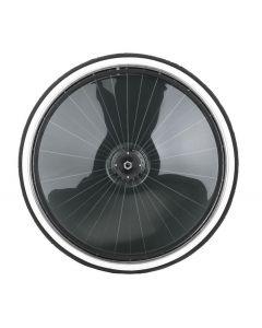 Finntack Sulkyhjul Rustfri. Med klare eller mørke hjukapsler.