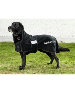 Fleecedækken hund fra Back on Track Silver Line