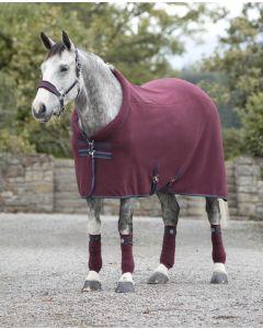 Rambo Cosy Fleece fra Horseware i Burgundy
