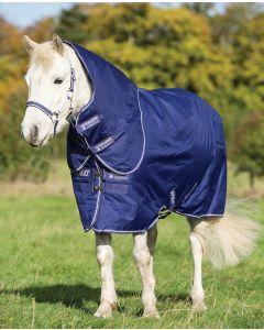 Amigo Hero 900 Pony Plus Medium/200g - Atlantic Blue with Atlantic Blue & Ivory