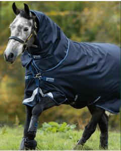 Amigo Bravo 12 Tripple Plus Pony/ 50G incl. hals, liner 100G & 200G fra Horseware
