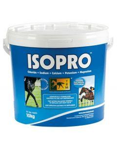 TRM ISOPRO er et diætetisk tilskudsfoder til kompensation for elektrolyttab ved kraftig sved.