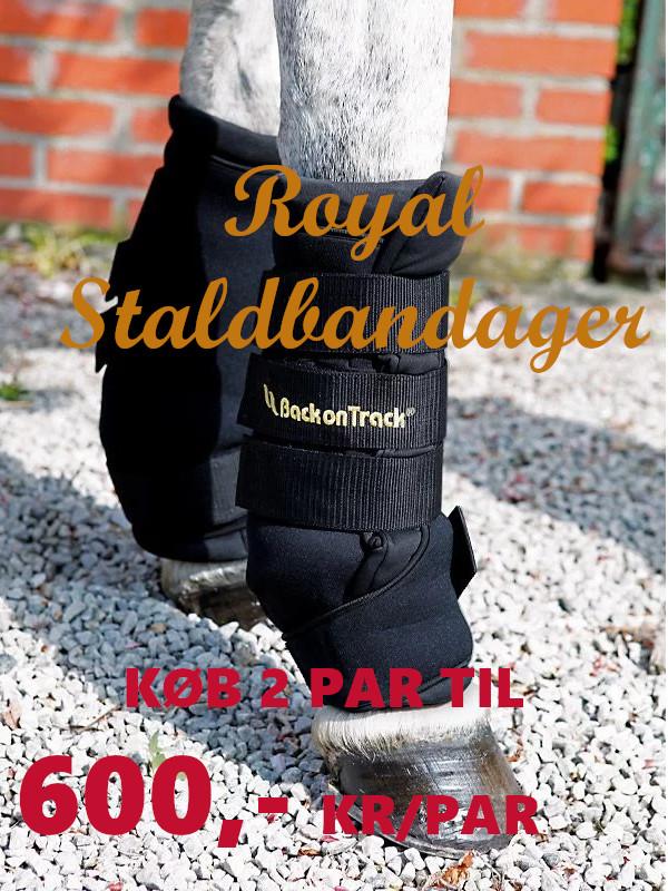 Royal Staldbandager fra Back on Track